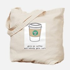 gimme coffee Tote Bag