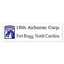 18th ABN Corps Bumper Bumper Sticker