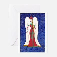 Russian Orthodox Angel Greeting Card