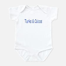 Turks & Caicos (Blue) - Infant Creeper