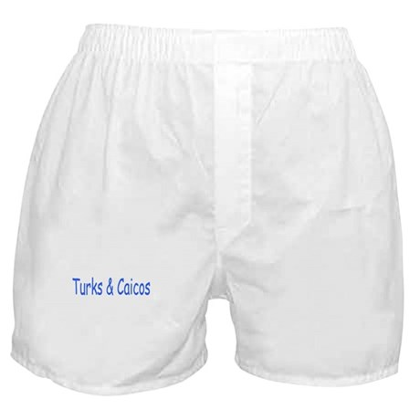 Turks & Caicos (Blue) - Boxer Shorts