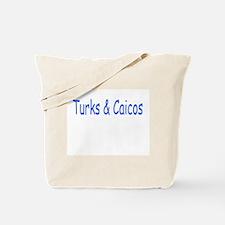 Turks & Caicos (Blue) - Tote Bag