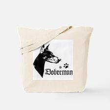 Cute Dobies Tote Bag