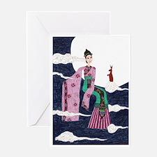 Chang 'E Greeting Card