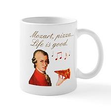 Mozart and Pizza: Music and food Mug