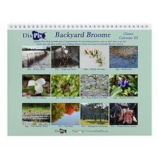 Dixpix Classic 3: Backyard Broome Wall Calendar