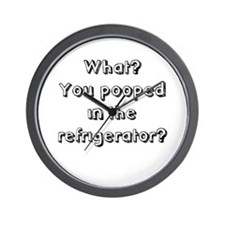 In The Refrigerator? Wall Clock