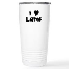 I Love Lamp Travel Mug