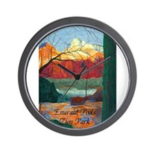 What the Pools Show Me Wall Clock