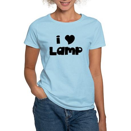 I Love Lamp Women's Light T-Shirt