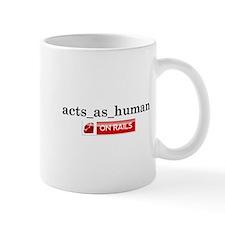 Acts_As_Human Mug