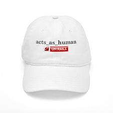 Acts_As_Human Baseball Cap