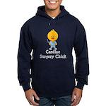 Cardiac Surgery Chick Hoodie (dark)