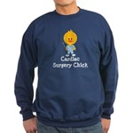 Cardiac Surgery Chick Sweatshirt (dark)