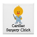 Cardiac Surgery Chick Tile Coaster