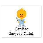 Cardiac Surgery Chick Small Poster