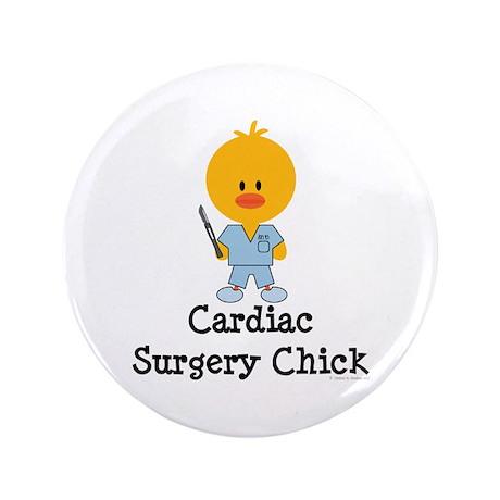 "Cardiac Surgery Chick 3.5"" Button (100 pack)"