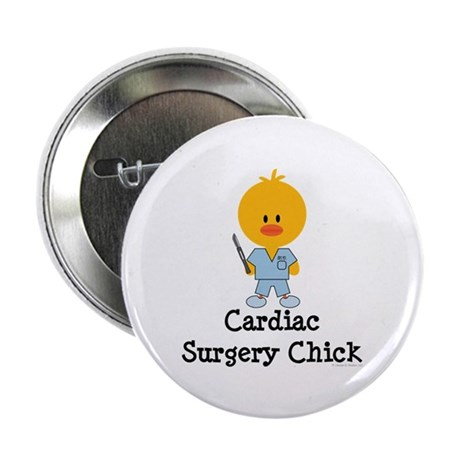 "Cardiac Surgery Chick 2.25"" Button (100 pack)"