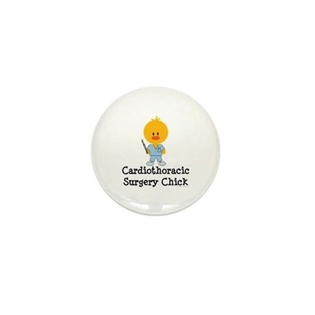Cardiothoracic Surgery Chick Mini Button (10 pack)