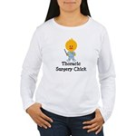 Thoracic Surgery Chick Women's Long Sleeve T-Shirt