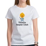 Thoracic Surgery Chick Women's T-Shirt
