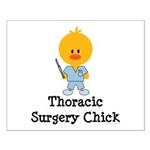 Thoracic Surgery Chick Small Poster