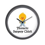 Thoracic Surgery Chick Wall Clock
