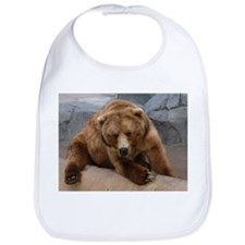 Cute Grizzly bears Bib