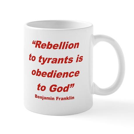 Rebellion vs. Obedience