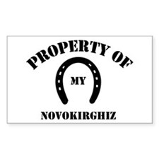 My Novokirghiz Rectangle Decal
