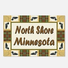 North Shore Loon Postcards (Package of 8)
