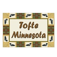 Tofte Loon Postcards (Package of 8)