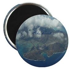 Above Oahu Magnet