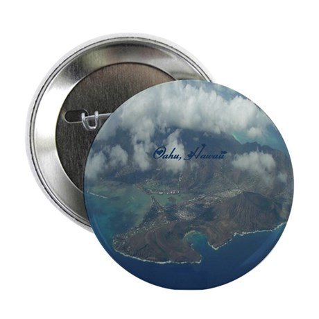 """Above Oahu 2.25"""" Button"""