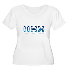 Eat Sleep FarmVille T-Shirt