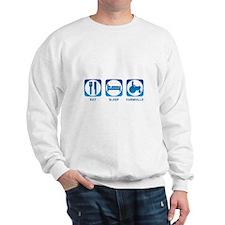 Eat Sleep FarmVille Sweatshirt