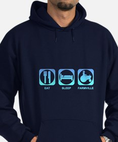 Eat Sleep FarmVille Hoodie