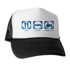 Eat Sleep FarmVille Trucker Hat