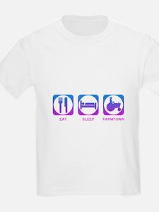 Eat Sleep FarmTown T-Shirt