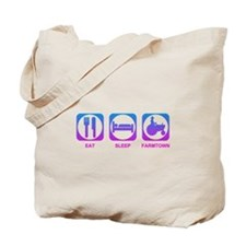 Eat Sleep FarmTown Tote Bag