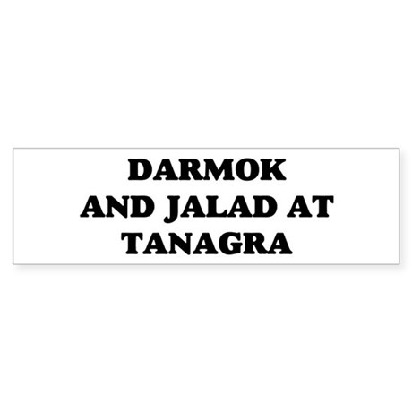 Darmok Jalad Sticker (Bumper)