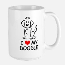 I Love My Doodle Mug