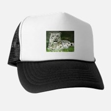 Snow Leopard 3 Trucker Hat