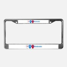 Funny Collecting indian artifacts License Plate Frame