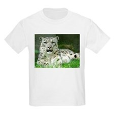Snow Leopard 3 Kids T-Shirt