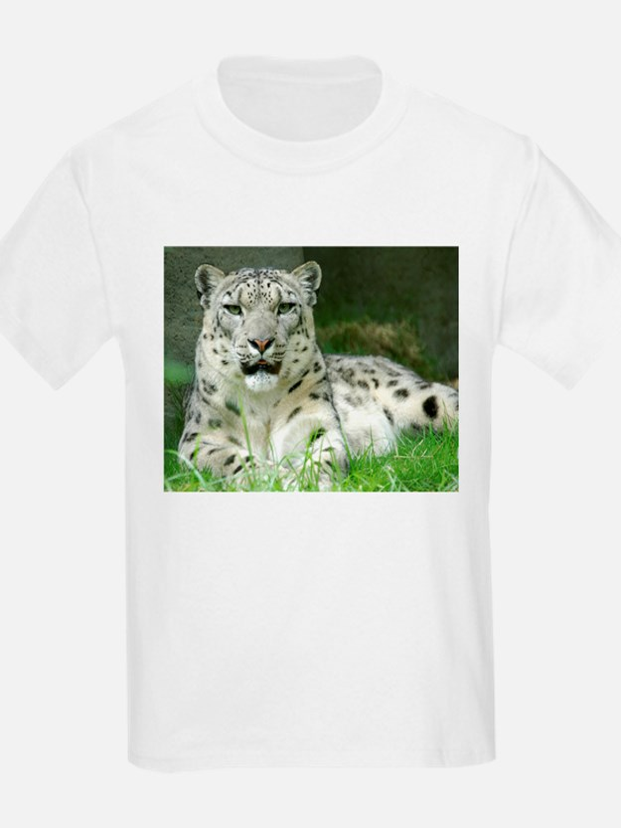 Snow Leopard 3 Kids T-Shirt