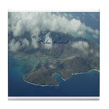 Above Oahu Tile Coaster