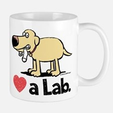 Love a Lab (Yellow)- Mug