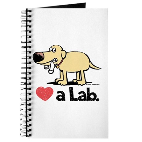 Love a Lab (Yellow)- Journal