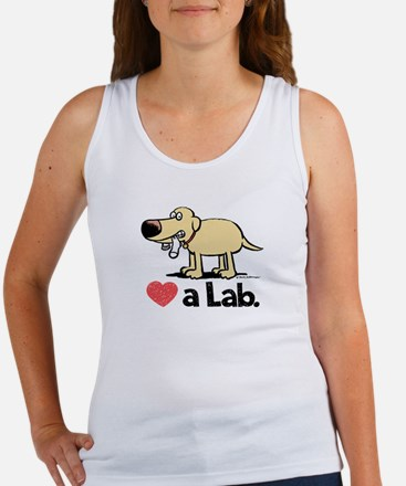 Love a Lab (Yellow)- Women's Tank Top